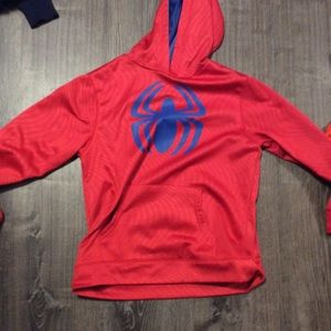 Boys Spider-man Red Hoodie